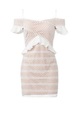 Carmen Mini Dress by STYLESTALKER