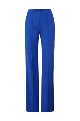 Pleat Front Dress Pants by Diane von Furstenberg