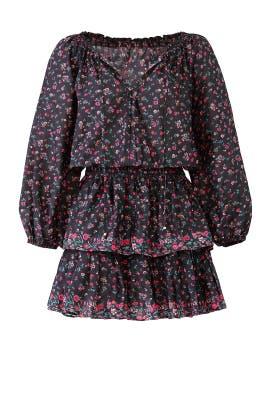 Floral Popover Dress by LoveShackFancy