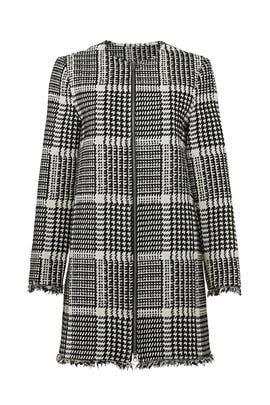Herringbone Fernando Coat by cupcakes and cashmere