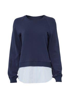 Midnight Hem Sweatshirt by Derek Lam 10 Crosby