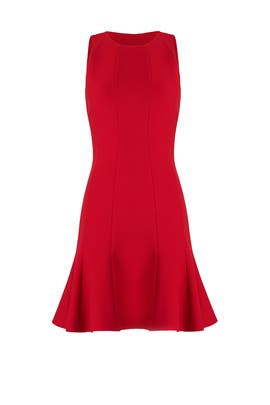 Red Rooney Dress by Elizabeth and James
