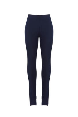 Navy High Waisted Leggings by Theory