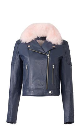 Sky Rose Faux Fur Jacket by Samantha Sipos