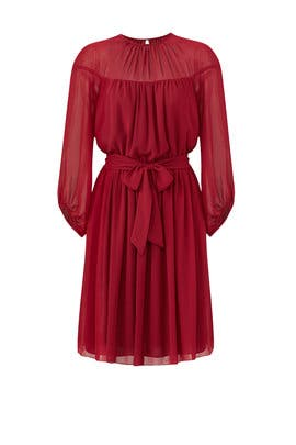 Rose Illusion Dress by Slate & Willow