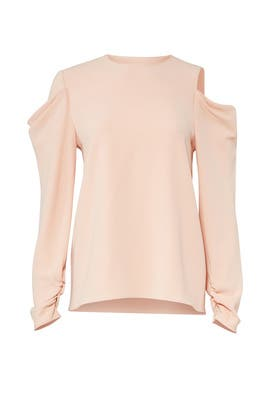 Blush Triacetate Top by Tibi