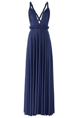 Sapphire Classic Convertible Gown by twobirds