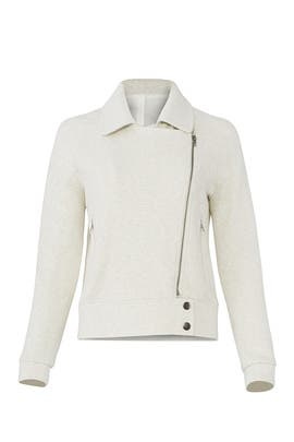 Textured Moto Jacket by cupcakes and cashmere