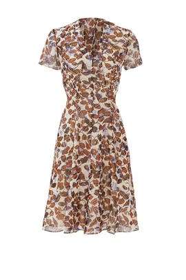 Flutter Leaf Dress by DEREK LAM