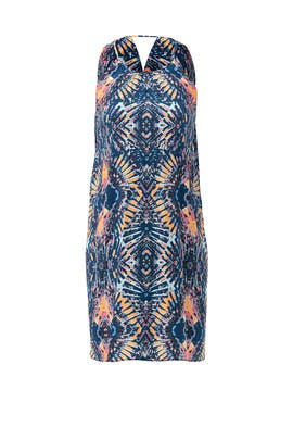 Kaleidoscope Printed Shift Dress by Matison Stone