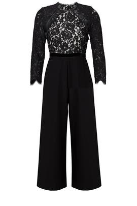 Black Ophelia Jumpsuit by Alexis
