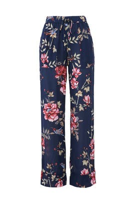 Floral Daltona Pants by Joie