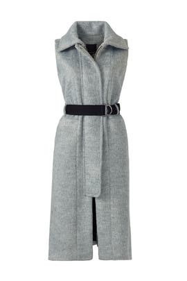 Grey Brody Bonded Vest by Marissa Webb