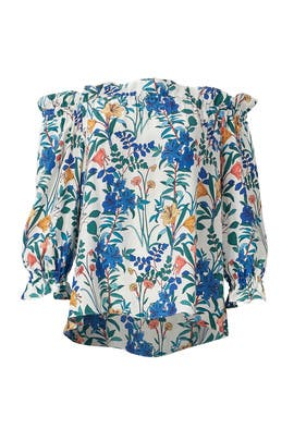 Floral Jazlyn Blouse by Parker