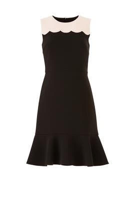 Scallop Sleeveless Dress by kate spade new york