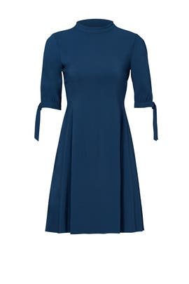 Blue Alvilla Bergen Dress  by Theory