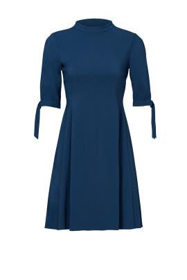 Blue Alvilla Bergen Dress  by Theory