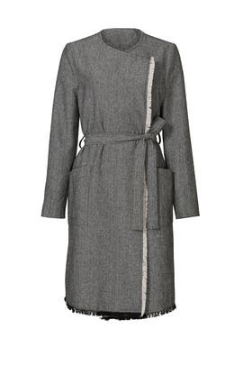 Grey Sycamore Coat by Line + Dot