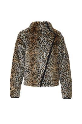 Leopard Long Jacket by Philosophy di Lorenzo Serafini