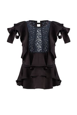Black Marielle Top by Marissa Webb