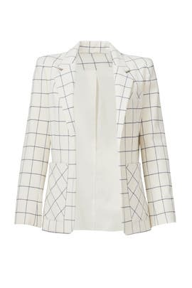 Box Grid Blazer by Derek Lam 10 Crosby