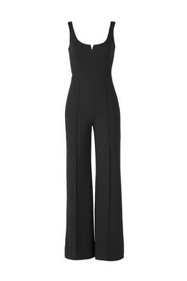 Black Hunter Jumpsuit by Donna Morgan