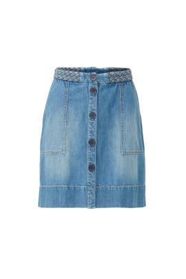 Sorren Denim Skirt by Joie