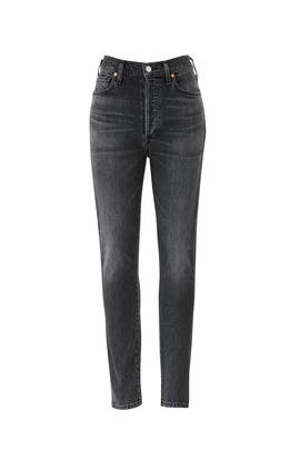 Grey Olivia High Rise Jeans by Citizens Of Humanity