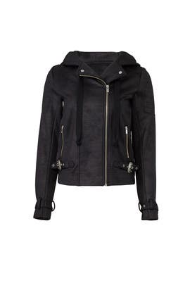 Leather Effect Jacket by The Kooples