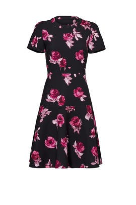 Encore Rose Crepe Dress by kate spade new york