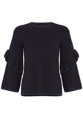 Ashley Sweater Top by Tory Burch