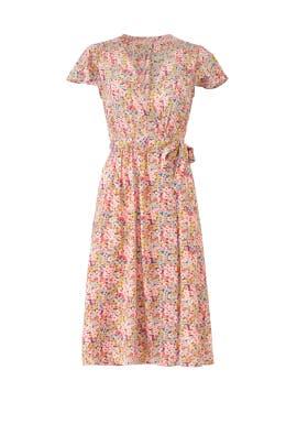 Margo Wrap Dress by Rebecca Taylor