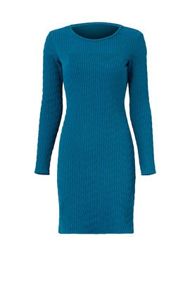 Teal Brooklyn Dress by Shoshanna