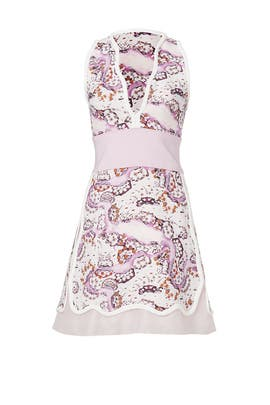 Wavy Paisley Shift by Giambattista Valli
