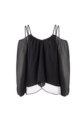 Black Sutton Top by LIKELY