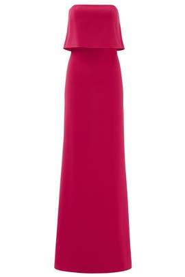 Pink Cerise Gown by Halston Heritage