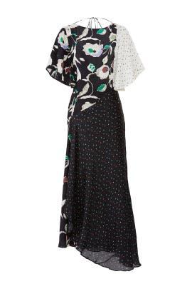 Floral Polka Dot Dress by Jason Wu Grey