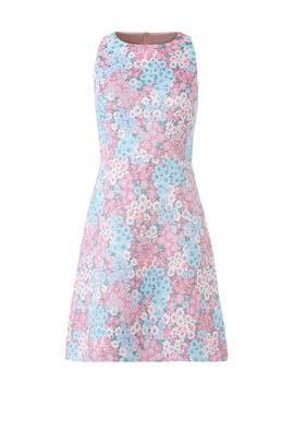 Jacquard A-Line Dress by kate spade new york
