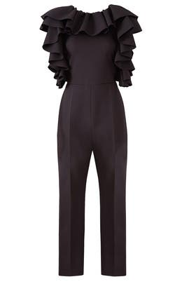 Ruffle Me Jumpsuit by MSGM