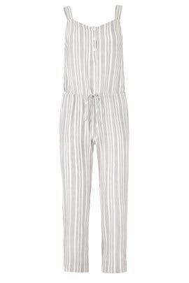 Striped Brooklyn Jumpsuit by Rails