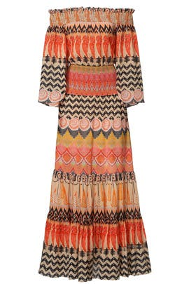 Desert Mix Maxi by Temperley London