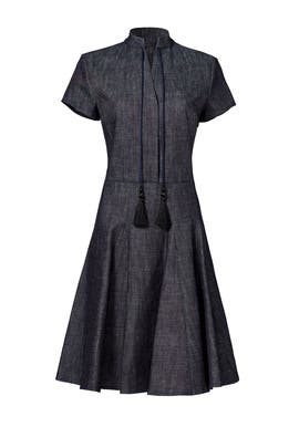 Tassel Tie Dress by DEREK LAM