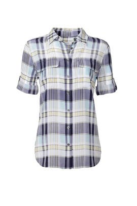 Plaid Signature Button Down by Equipment