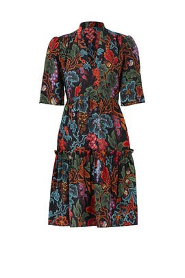 Forest Flower Printed Dress by Philosophy di Lorenzo Serafini