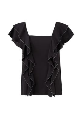 Black Lily Top by Cooper & Ella