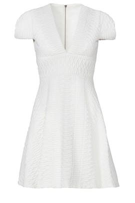 White Vision Dress by Hunter Bell