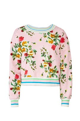 Floral Tyler Sweatshirt by Milly