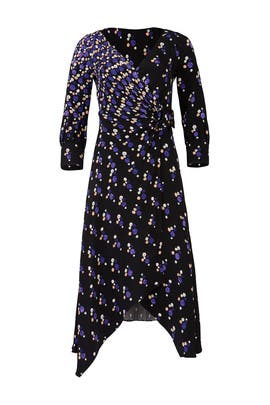 Spot Print Wrap Dress by Peter Pilotto
