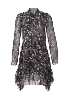 Paisley Neck Tie Dress by See by Chloe