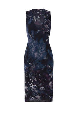 Shallow Print Sheath by Fuzzi